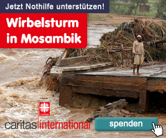 Mosambik: Caritas leistet Nothilfe nach Wirbelsturm Idai