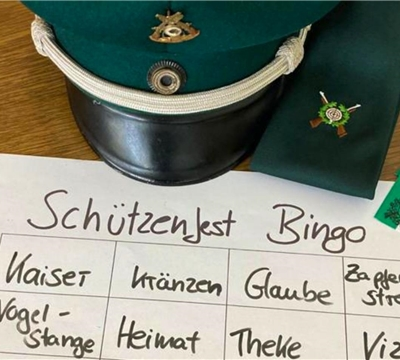 Schützenfest-Bingo